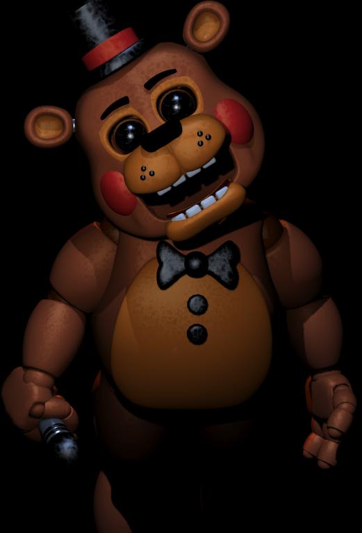 Old Toy Freddy : Fredy fasbear bloody book